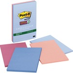 Post-it Recycled Super Sticky Notes in Farmers Market Colors MMM4621SSNRP