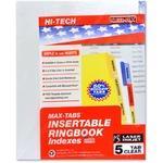 Kleer-Fax HiTech Insertable Index Divider KLF33005