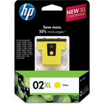 HP 02XL Ink Cartridge - Yellow HEWC8732WN