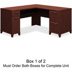 bbf Enterprise 2930CSA1-03 L-Shaped Desk Box 1 of 2 BSH2930CSA103