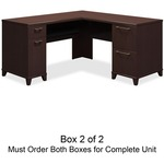 bbf Enterprise 2930MCA2-03 L-Shaped Desk Box 2 of 2 BSH2930MCA203