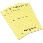 Buddy Preprinted Suggestion Cards BDY5621