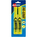 Avery Hi-Liter Desk Style Highlighter AVE24081