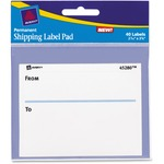 Avery Shipping Label Pad AVE45280