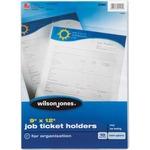 Wilson Jones Top-Loading Job Ticket Holders WLJ21441-BULK