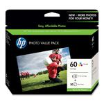 HP 60 Ink Cartridge - Cyan, Magenta, Yellow HEWCG845AN