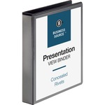Business Source Standard Presentation Binder BSN09982
