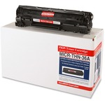 Micromicr MICR Toner Cartridge - Replacement for HP - Black MCMMICRTHN36A