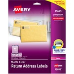 Avery Easy Peel Return Address Label AVE15695