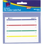 Avery File Folder Label Pad AVE45215