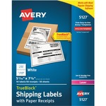 Avery Shipping Label with Paper Receipt AVE5127