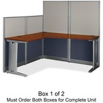 bbf Office-in-an-Hour L-Shaped Desk (Box 1 of 2) BSHWC36494C103