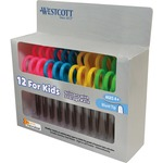 Westcott Kids Soft Handle Scissor Pack ACM14871