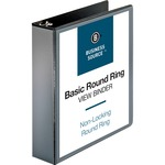 Business Source Round Ring View Binder BSN09956