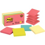 Post-it Pop-up Notes in Canary Yellow and Neon Colors MMMR33014YWM