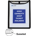 C-line High Capacity Stitched Shop Ticket Holder CLI39912