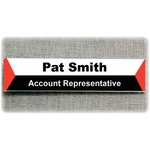Advantus Panel Wall Sign Holder AVT75329