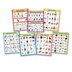 Carson-Dellosa Language Arts Chartlet Set CDP144154