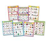 Carson-Dellosa Language Arts Chartlet Set CDP144154