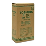 Toshiba Ribbon Cartridge - Black TOSIF03