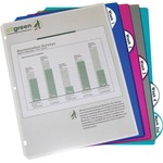 C-line Poly Binder Index Divider with Pockets CLI05450