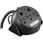 Safco 3-Outlets Power Strip SAF2059BL