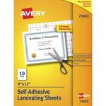 Avery Self-Adhesive Laminating Sheets AVE73603