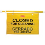 Rubbermaid Site Safety Hanging Sign RCP9S1600YL