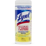 Lysol Lemon Lime Disinfect Wipe RAC81145