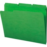 Smead 12138 Green 100% Recycled Colored File Folders SMD12138