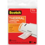 Scotch Index Card Size Thermal Laminating Pouch MMMTP590220
