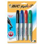 BIC Mark-it Permanent Marker BICGPMMP41ASST