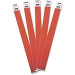 Advantus 100-pack Tyvek Colored Wrist Bands AVT75441