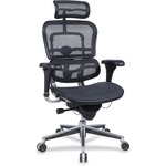 Eurotech Ergohuman ME7ERGW091 Mesh Multifunction Executive Chair EUTME7ERGBLK