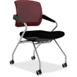Mayline Valore TSM2 Mid Back Chair MLNTSM2BR