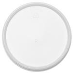 Plastic Lids, Fits 32oz Foam Cups, Vented, White, 500/Carton 32JL