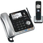 AT&T Bluetooth, DECT Cordless Phone - Black, Silver ATTTL86109