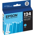 Epson DURABrite 124 Ink Cartridge - Cyan EPST124220
