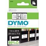 Dymo Black on White D1 Label Tape DYM53713