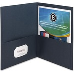 Business Source Double Pocket Portfolio BSN78492