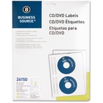 Business Source CD/DVD Inkjet Label BSN26150