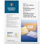 Business Source Mailing Inkjet Label BSN26127-BULK