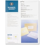 Business Source Mailing Inkjet Label BSN26126