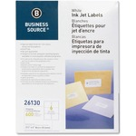 Business Source Mailing Inkjet Label BSN26130