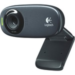 Logitech C310 Webcam - Black - USB 2.0 LOG960000585