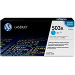 HP 503A (Q7581AG) Cyan Original LaserJet Toner Cartridge for US Government HEWQ7581AG