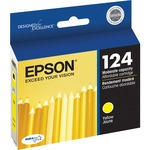 Epson DURABrite 124 Ink Cartridge - Yellow EPST124420