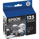 Epson DURABrite 125 Ink Cartridge - Black EPST125120D2