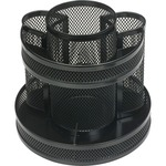 Business Source Rotary Mesh Organizer BSN62886
