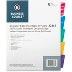 Business Source Design Index Divider BSN32367